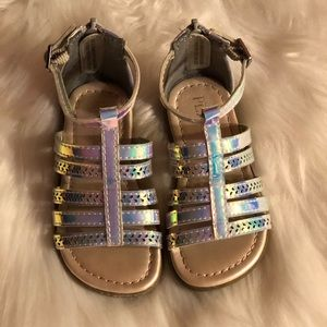 Toddler Girl Metallic Gladiator Sandal
